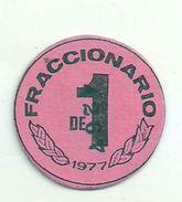 ESPAGNE - 1977 - Monnaie De Carton FRACCIONARIO Venta Marcelino Provenza 201 - Espagne