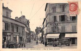 95-ARGENTEUIL- RUE DE SAINT GERMAIN - Argenteuil