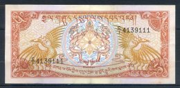 493-Bhoutan Billet De 5 Ngultrum 1985 CI413 - Bhoutan