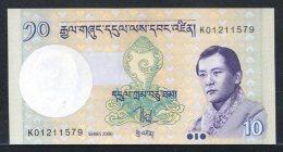 438-Bhoutan Billet De 10 Ngultrum 2006 K012 Neuf - Bhoutan