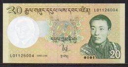 510-Bhoutan Billet De 20 Ngultrum 2006 L011 Neuf - Bhoutan