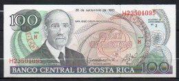 529-Costa Rica Billet De 100 Colones 1993 H235 Neuf - Costa Rica