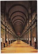 Trinity College Library Dublin, The Long Room ( 200,000 Books) -  (Ireland) - Dublin