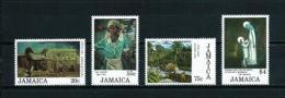 Jamaica  Nº Yvert  632/5  En Nuevo - Jamaica (1962-...)