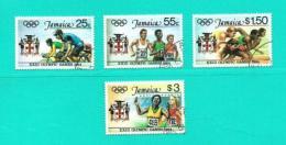 Jamaica  Nº Yvert  598/601 (USADO) - Jamaica (1962-...)