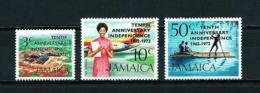 Jamaica  Nº Yvert  368/70  En Nuevo - Jamaica (1962-...)