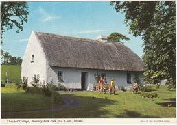 Shannon Farmhouse (Thatched Cottage), Bunratty Folk Park, Co. Clare - (John Hinde Original) -  (Ireland) - Clare