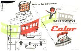 F C/ Buvard   Fer A Repasser CALOR (N= 1) - Buvards, Protège-cahiers Illustrés