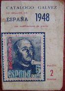 CATALOGO DE GALVEZ ESPAÑA AÑO 1948 - VER FOTOS ADICIONALES - Spagna
