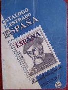 CATALOGO ILUSTRADO DE ESPAÑA DE 1949 - RICARDO DE LAMA . VER FOTOS ADICIONALES - Spagna