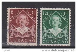 Nederlandse Antillen Curacao 198-199 Used ; Koningin, Queen, Reine, Reina Juliana. - Curaçao, Nederlandse Antillen, Aruba