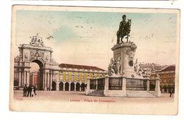 Portugal & Circulated Postal,  Praça Do Comércio Sachsen, Lisboa 1912 (117) - Monuments