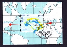 Bloc 72 ** Jeux Plympiques (Oblitéré Premier Jour) - Blocs 1962-....