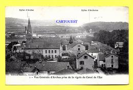 CPA 88 ARCHES Vue Générale ( Trés Peu Commune ! ) - Arches