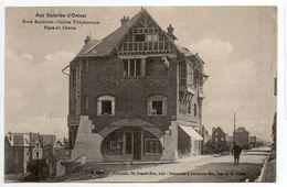 - FRANCE (80) - CPA écrite Aux Galeries D'Onival - Poste Auxiliaire - Cabine Téléphonique - Place Du Centre - - Onival