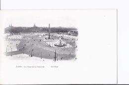 7 Cpa Dos Simple : Paris : Place De La Concorde (vues Différentes) 1901 à 1906 - Places, Squares