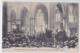 METZ - Intérieur De La Cathédrale Pendant Le Sermon - Inauguration Du Monument De Noisseville - Metz