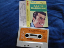 ALAIN BARRIERE K7 AUDIO VOIR PHOTO...ET LIRE IMPORTANT...  REGARDEZ LES AUTRES (PLUSIEURS) - Audio Tapes