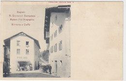 Spino (Val Bregaglia) - Birraria R. Giovanoli-Semandeni - Selten          (P-71-50213) - GR Grisons