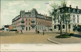 AK Basel, Tellsplatz, Um 1905 (S1-336) - BS Bâle-Ville