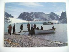 Norway Spitsbergen  Svalbard Norway Norge Norvegia Postcard USED - Norvège