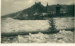 ALLEMAGNE / DEUTSCHLAND - Oberwesel : Der Zugefrorene Rhein  - 1929 - Oberwesel