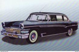 ZIL 111  -  1957  -  Soviet Limousine  -  CPM - Voitures De Tourisme