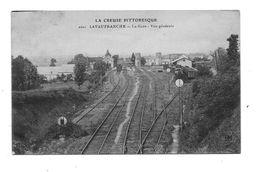 PF1572 - 23 Lavaufranche - La Gare - Vue Générale - Autres Communes