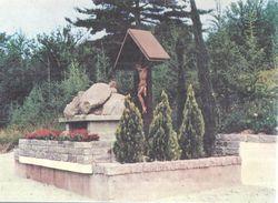 TRAVEDONA MONATE CRISTO DEGLI ALPINI ,PANORAMA .,VIAGGIATA NO--1970.-FG--330-T - Varese