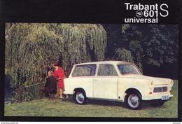 Trabant 601S Universal  -  1966  -  CPM - Voitures De Tourisme