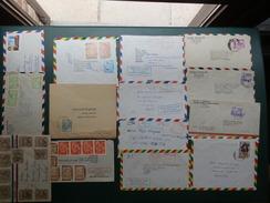 Kartonnendoos7/LOT 268  14 LETTERS BOLIVIA - Bolivia