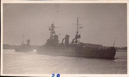 Marine De Guerre,  Croiseur De 10.000 T Colbert, Foch     (etat Voir Photos)  Dim: 10 X 6. - Guerre, Militaire