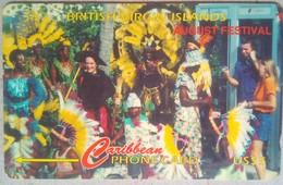 BVI Phonecard US$5 Culture 143CBVG Spanish Rev - Virgin Islands