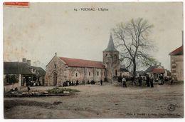 Voussac : L'église (Editeur A. Zahn, N°64 - Cliché A. Denizot - Imp. AB&C, Nancy) - France
