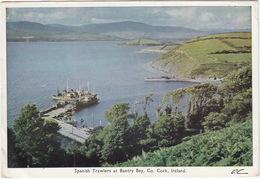 Spanish Trawlers At Banty Bay, Co. Cork - (1961)  - (P.C) -  (Ireland) - Cork