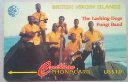 BVI Phonecard US$10 Lashing Dogs 171CBVA English Rev - Vierges (îles)
