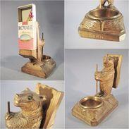 ~ OURS DE BERN PYROGENE # Sculpture Souvenir Animal Statue Fôret Noire - Pyrogènes