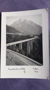 CPSM EUROPABRUCKE MIT SERLES PHOTO SELMER ? 88 PONT 1964 TIMBRE ENELEVE AU DOS - Puentes