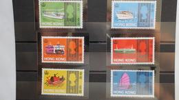 Hong Kong Année 1968 Bateaux 6 Val N° 230 à 235 Neuf** - 1941-45 Occupation Japonaise