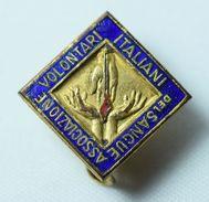 Distintivo AVIS (Associazione Volontari Italiana Del Sangue) - Lot. 139 - Organizzazioni