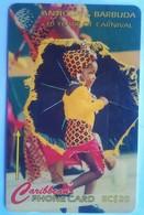 Antigua Phonecard EC$20 Mas Troupe181CATF - Antigua And Barbuda