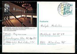 "Germany 1979 Bildganzsache""Paderborn,Aula""Mi.Nr.P129 G14/209 Mit TST""Bad Soden""bef.""Bad Soden-München""1 GS Used - Cartoline Illustrate - Usati"
