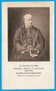 """Image Religieuse De MATHIEU-HENRI PLANCHAT """"massacré Par La Commune"""" De Paris Rue Haxo En Mai 1871  * Pieuse Histoire - Santini"""