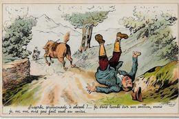 CPA Henriot Illustrateur Humour Non Circulé Sans éditeur - Henriot