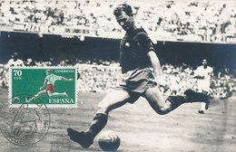 D30621 CARTE MAXIMUM CARD 1961 SPAIN - SOCCER CP PHOTOCARD - Soccer