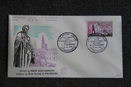 FDC - Statue Du Préfet LEZAY MARNESIA, Fondateur De L'Ecole Normale , N° 336, Historique, Premier Jour D'Emission - FDC