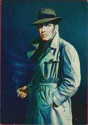 Grote Kaart Grand Format 4387 Gunter Blum Humprey Bogart Artist Actor Hollywood Painting - Acteurs