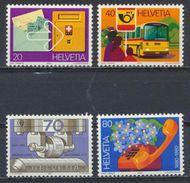 °°° SVIZZERA - Y&T N°1110/113 - 1980 MNH °°° - Schweiz