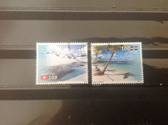 Zwitserland / Suisse - Complete Set Joint Issue Dominicaanse Republiek 2016 - Zwitserland