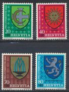 °°° SVIZZERA - Y&T N°1117/20 - 1980 MNH °°° - Suisse